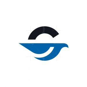 Letter G Bird Logo