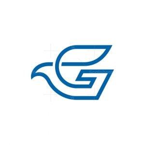 Letter G Eagle Logo