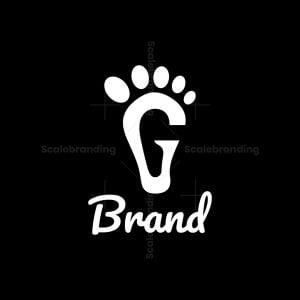 Letter G Foot Logo