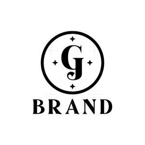 Letter Gj Logo