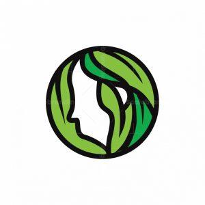 Letter O Eco Women Logo