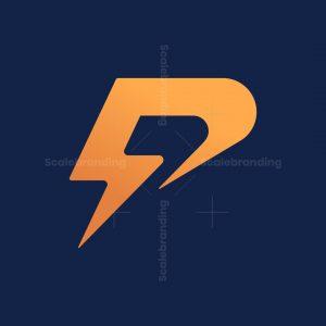 Letter P Flash Logo