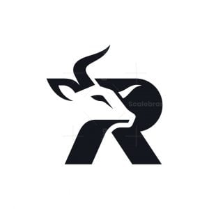 Letter R Bull Logo