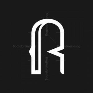 Letter R Modern Logo