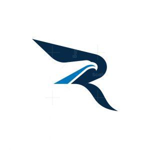 Letter R Raptor Logo