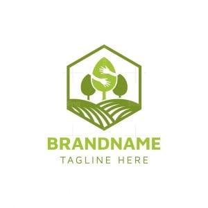 Letter S Tree Nursery Logo