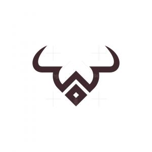 Letter W Bull Logo