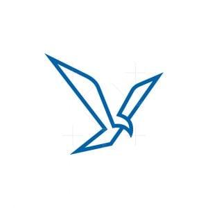 Letter Y Eagle Logo