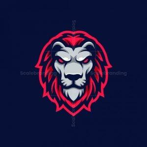 Lion Esport Mascot Logo