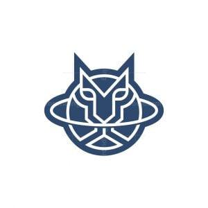 Lion Planet Logo