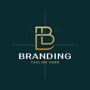 Luxury Lb Monogram Logo