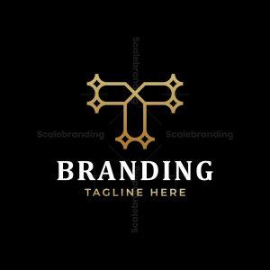 Luxury Letter T Logo