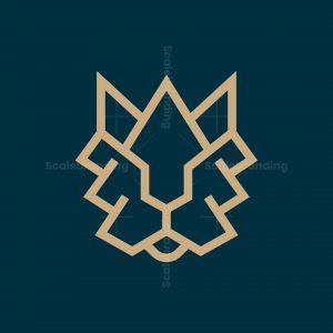 Luxury Lion King Logo