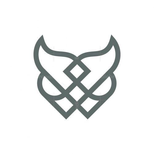 Luxury Owl Head Logo