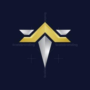 Luxury T Arrow Logo