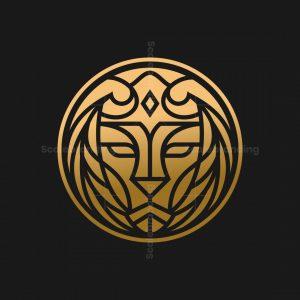 Lion Medallion Logo