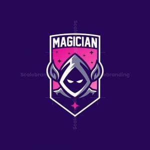 Magician Mascot Logo