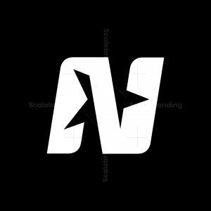 N Star Letter Logos