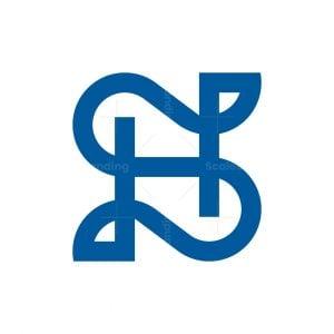 Letter N Or Sh Logo