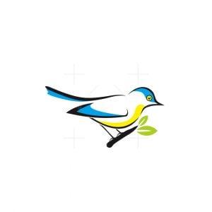 Nightingale Bird Logo