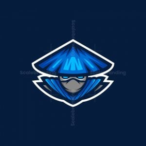 Ninja Esport Mascot Logo