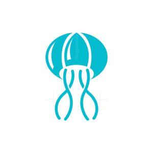 Parachute Jellyfish Logo