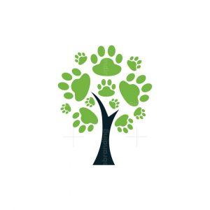 Paw Tree Logo