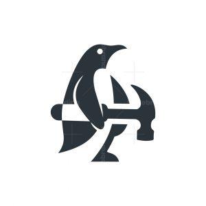 Penguin And Hammer Logo