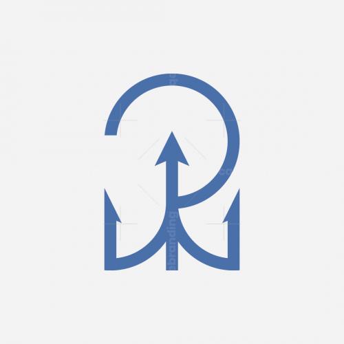R Logo Trident