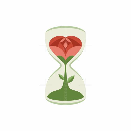 Rose Hourglass Logo