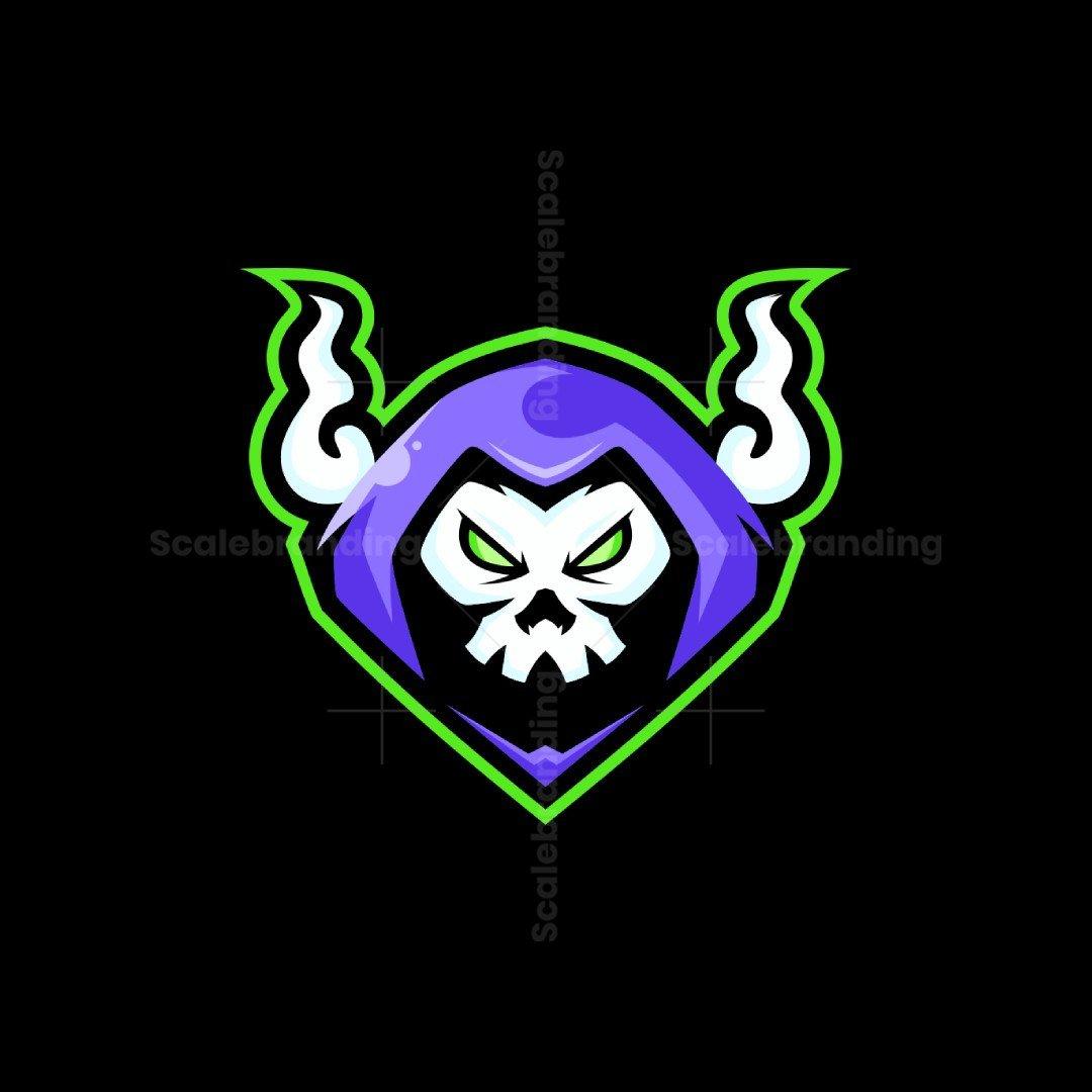 Reaper Mascot Logo