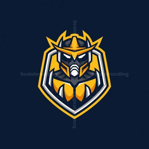 Robot Esport Mascot Logo