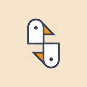 S Duck Logo