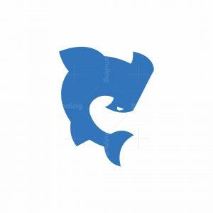 Hammerhead Shark Logomark