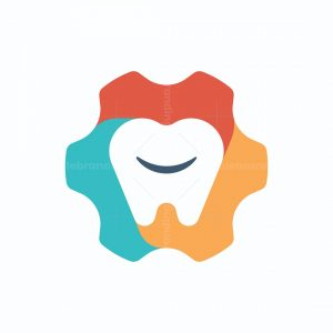 Colorful Tooth Logo