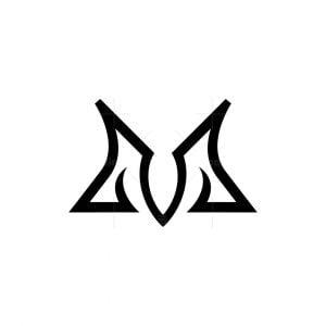 Stylish Letter M Logo