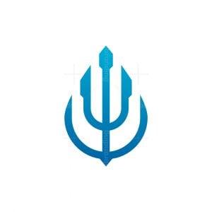Trident Drop Logo