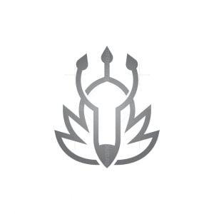 Trident Wolf Logo