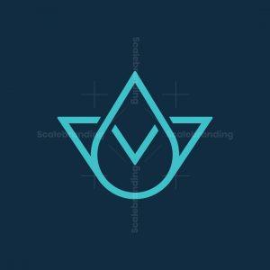 V Drop Logo