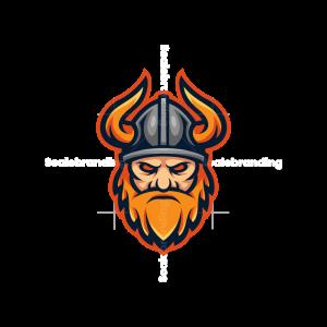 Viking Esport Mascot Logo