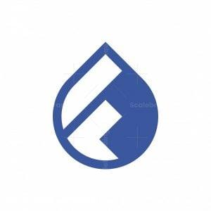 Water Drop F Logo