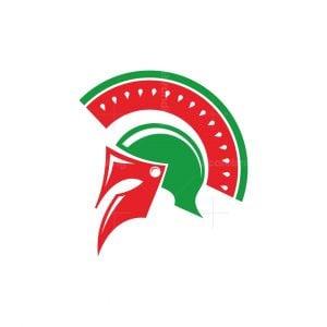 Watermelon Spartan Logo