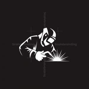 Welder Simple Logo