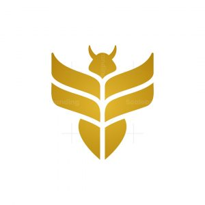 Wheat Bee Logo