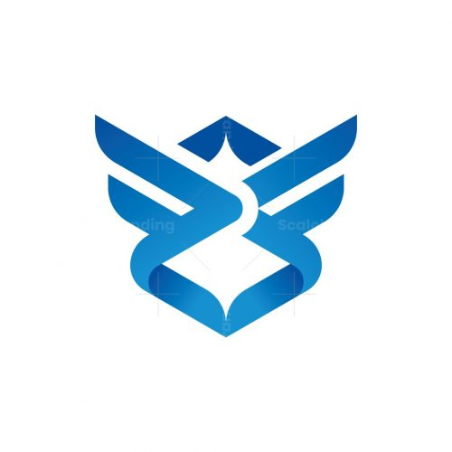 Abstract Wings Logo