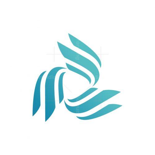 Wings Rotation Logistics Logo