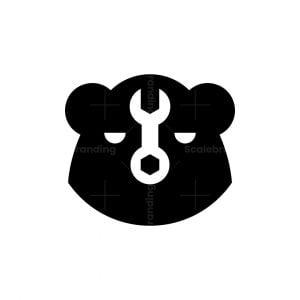 Wrench Bear Logo