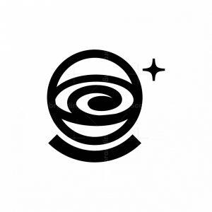 Astronaut Black Hole Logo