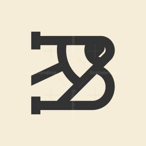 B Pencil Logo