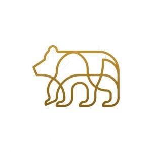 Bear Monoline Logo